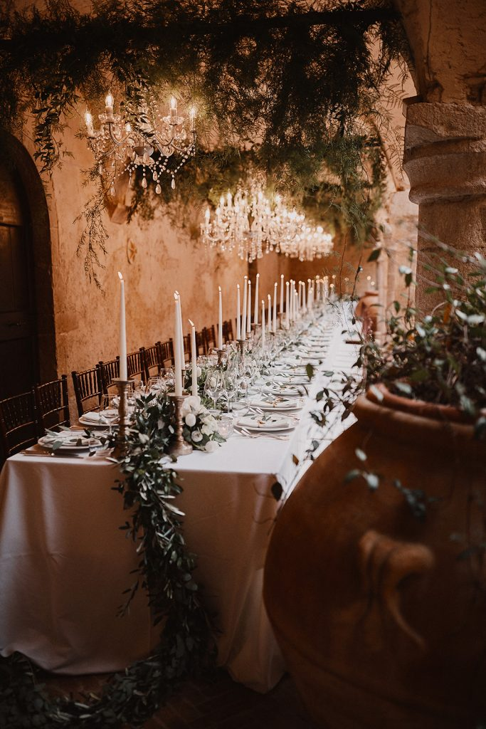 Abbazia San Pietro in Valle Tablescape