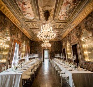Villa Erba reception