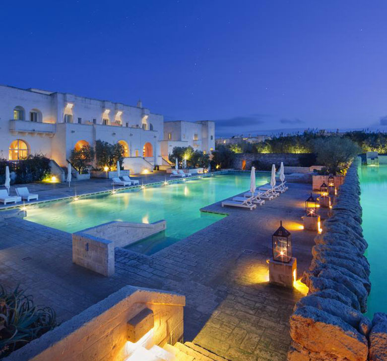 Borgo Egnazia Wedding, swimming pool