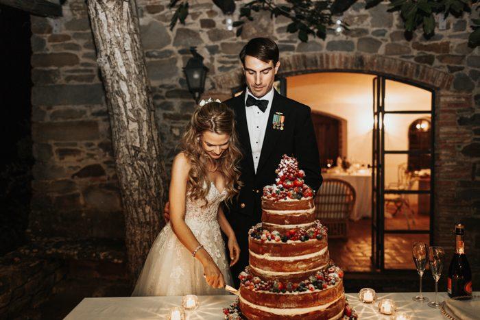 Italian wedding cak,  Italian inspired Weddng