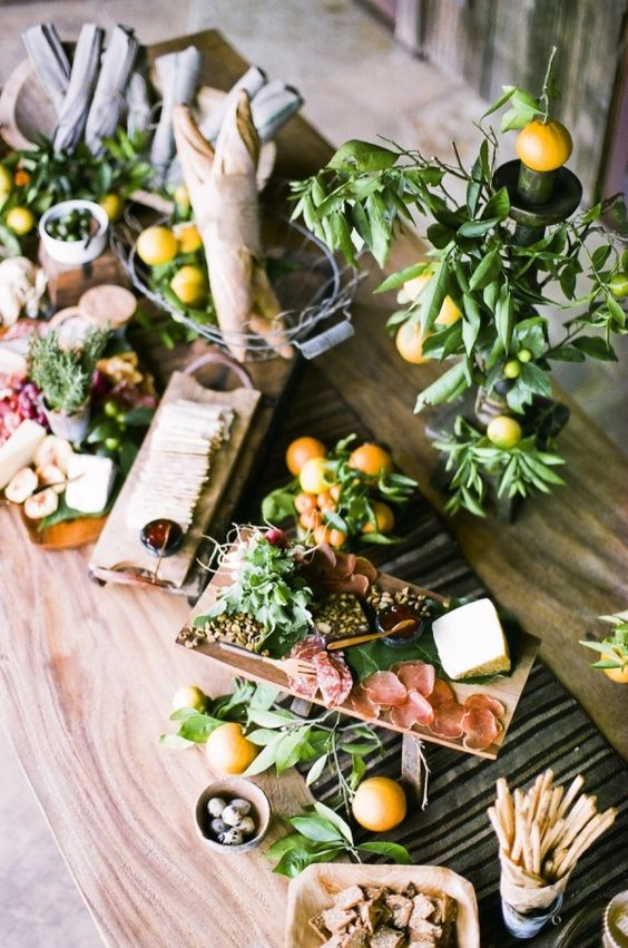 Grazing Table,  Italian inspired Weddng