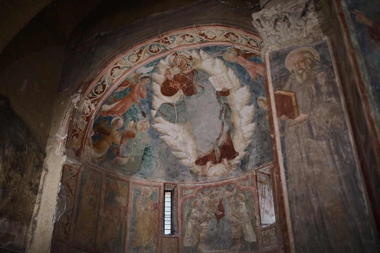 Frescoed Church