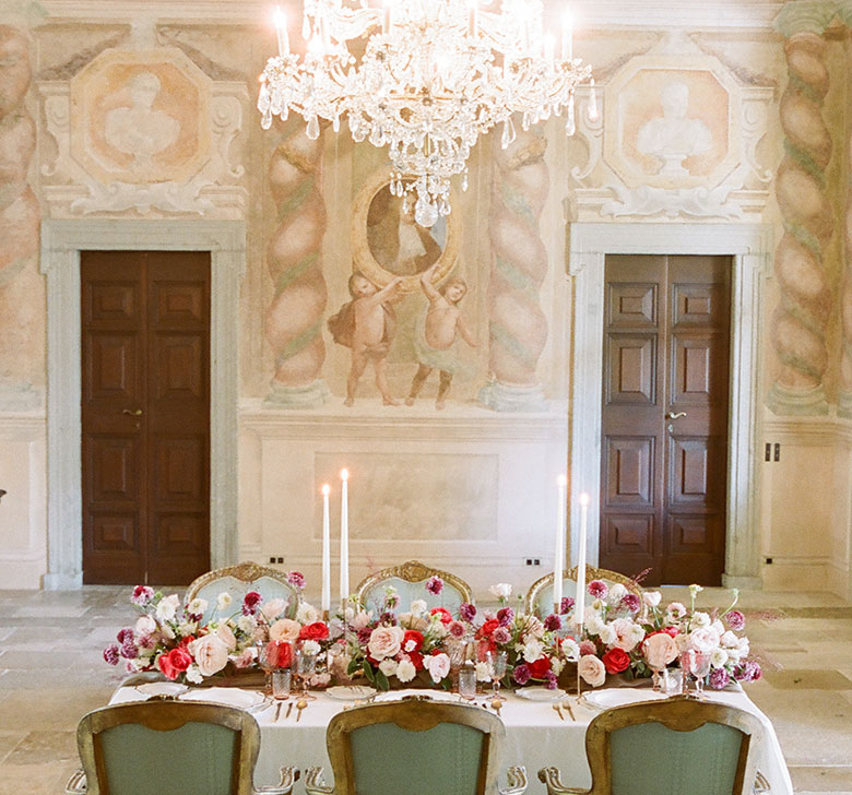 Villa Balbiano Reception