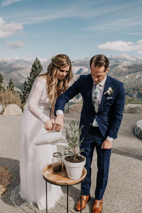 Make your wedding ceremony totally unique by including some creative options to a Symbolic ceremony. A unity ceremony is a visually symbolic element that gives a lasting and meaningful keepsake of the vows you make to each other.