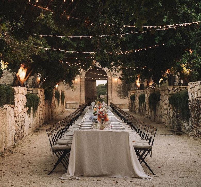 Villa Balbiano Reception