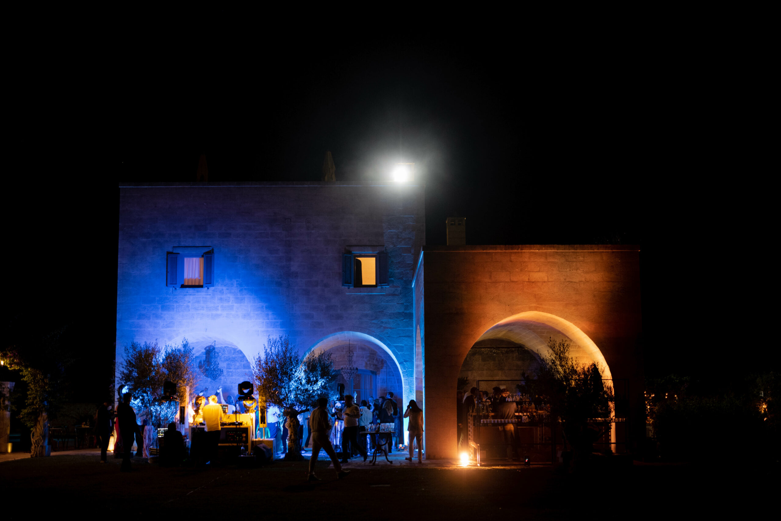 After party in small cloister