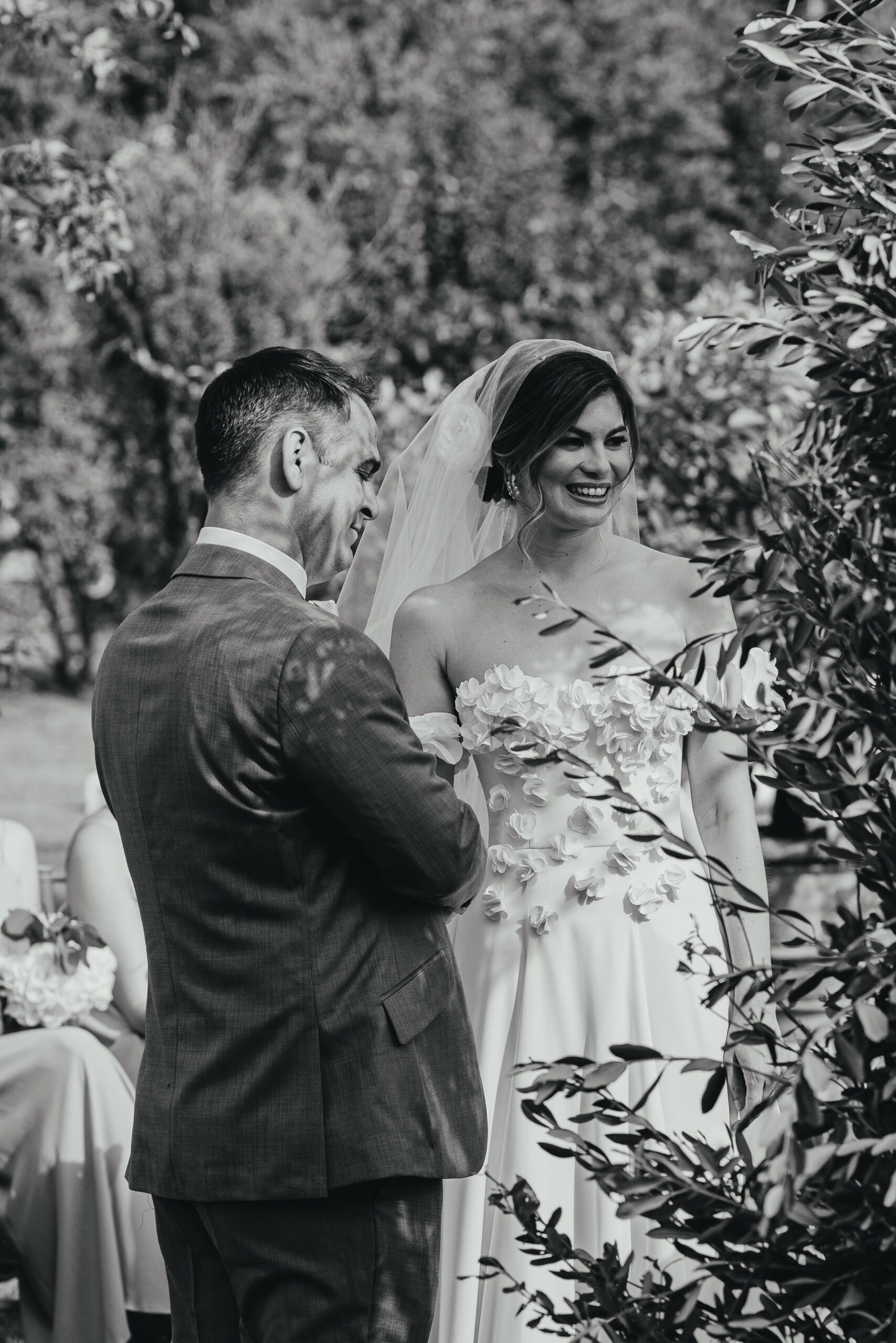 Beautiful church wedding, Umbria