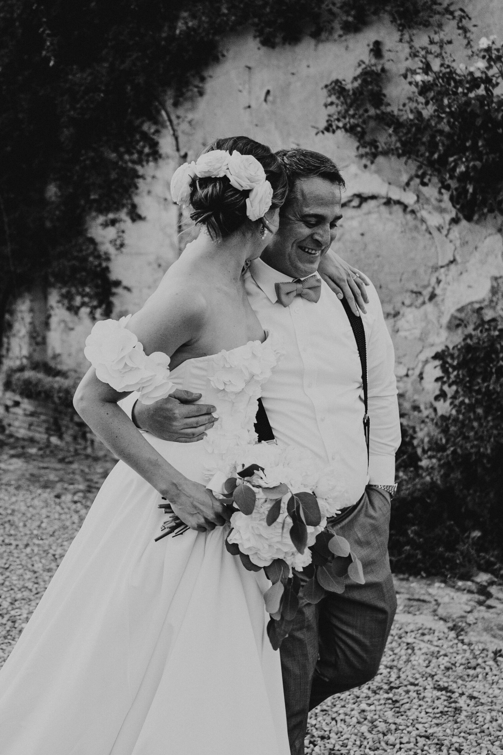 Bride and Groom, wedding in Abbazia San Pietro in Valle